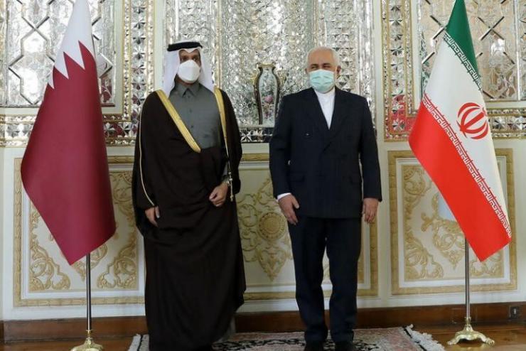 وزيرا خارجية قطر وإيران يبحثان حل القضايا الإقليمية