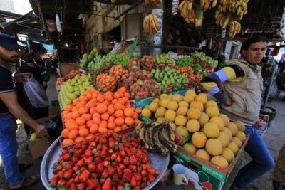 أسعار الخضار واللحوم والدجاج في أسواق غزة اليوم