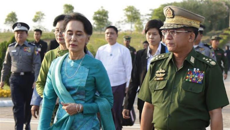 ميانمار في قبضة الجيش.. والزعيمة قيد