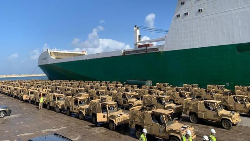 وصول 100 عربة مدرعة من بريطانيا إلى لبنان