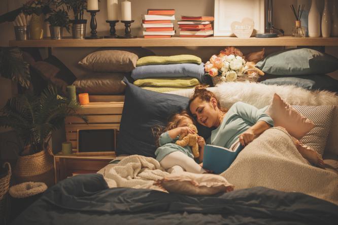 4 نصائح لتجعلي موعد نوم أطفالك وقتاً ممتعاً وهادئاً