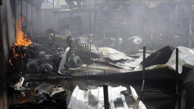 الأمم المتحدة: مقتل ما لا يقل عن ثمانية في حريق بمركز للمهاجرين في اليمن
