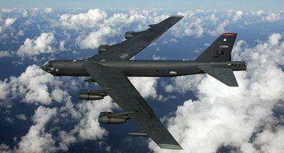 """الولايات المتحدة: قاذفتان أمريكيتان من طراز """"بي-52"""" تنفذان """"دورية جوية"""" في الشرق الأوسط"""