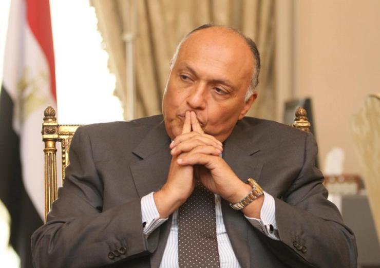 شكري: حريصون على حل أزمة سد النهضة والوقت ضيق