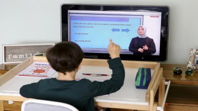 كيف تحمين نظر طفلك مع التعلم عن بعد ؟