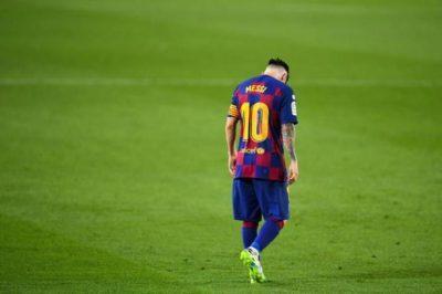 لابورتا يثق في بقاء ميسي مع برشلونة