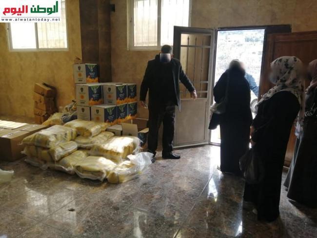 جمعية أرضي للتنمية تقدم مساعدات للاجئين فلسطينيين وسوريين في لبنان