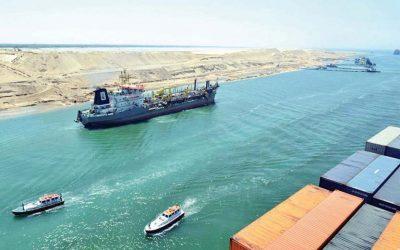 مصر تلغي ضريبة القيمة المضافة على السفن العابرة لقناة السويس