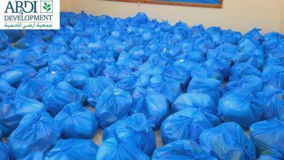 توزيع سلات غذائية على 1000 أسرة في لبنان