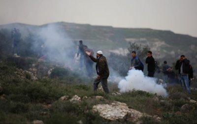 435 إصابة بمواجهات مع قوات الاحتلال في نابلس