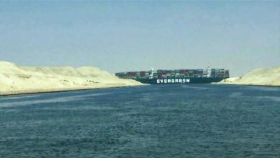 قناة السويس توقع اتفاقا لتسوية أزمة السفينة إيفر جيفن