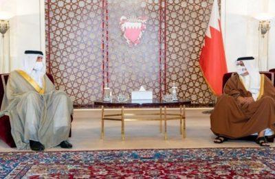 ولي العهد البحريني يلتقي سفير المنامة لدى إسرائيل