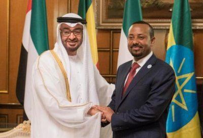 مباحثات إماراتية إثيوبية تناولت تعاوناً ثنائياً وتطورات إقليمية
