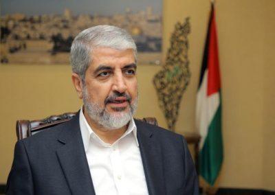 مشعل يتحدث عن صفقة تبادل الأسرى والحرب الأخيرة على غزة