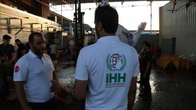"""""""الإغاثة التركية"""" توزع لحوم أضاحي على 6500 أسرة"""