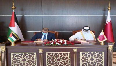 قطر والأردن توقعان اتفاقية تعاون في المجال الأمني