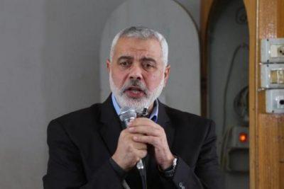 هنية يصل طهران على رأس وفد من حماس للمشاركة في حفل تنصيب الرئيس