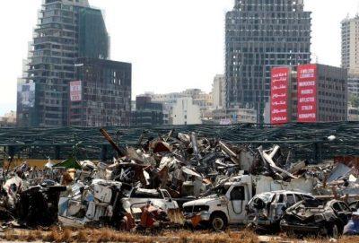 سائق شاحنة يفجر مفاجأة بشان انفجار مرفأ بيروت (شاهد)
