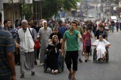 دراسة : 80% من سكان قطاع غزة يقضون معظم حياتهم في الظلام الدامس