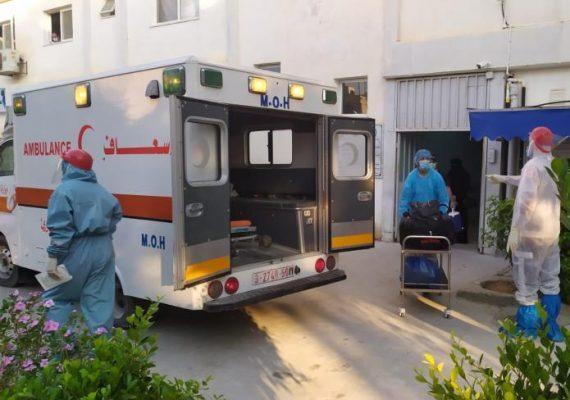 الصحة بغزة: تسجيل حالتي وفاة و406 إصابات جديدة بفيروس كورونا
