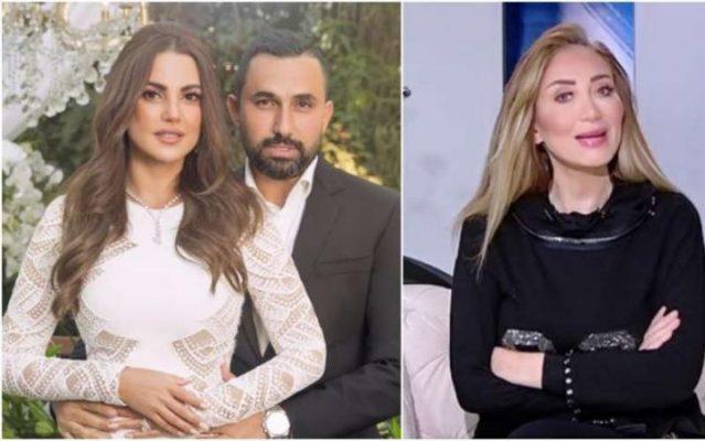 زوج نيللي كريم السابق يعلق على زواج درة.. وريهام سعيد ترد عليه